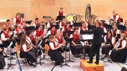 Die Musikfreunde aus Kappel unter der Leitung von Andreas Hirt